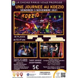 Journée au Koezio