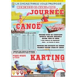 Journée Canoë Karting